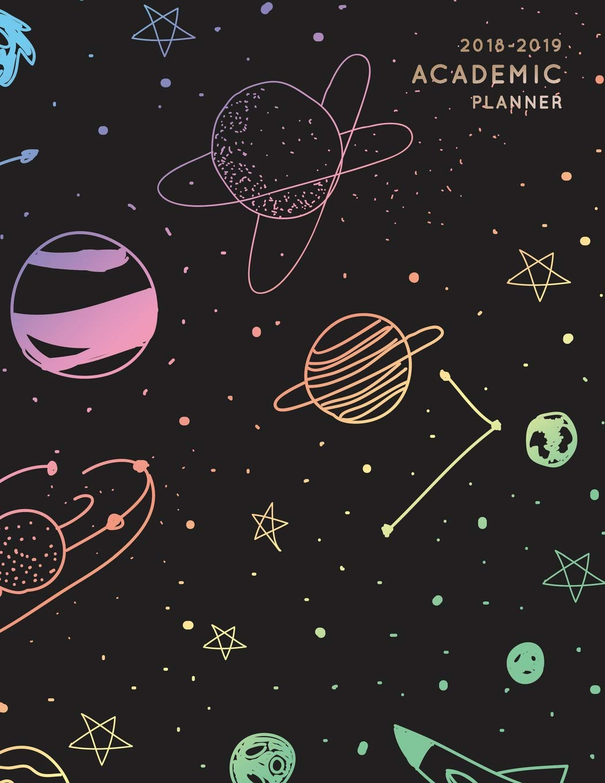2018-2019 Academic Planner: Rainbow Constellation Stars ...