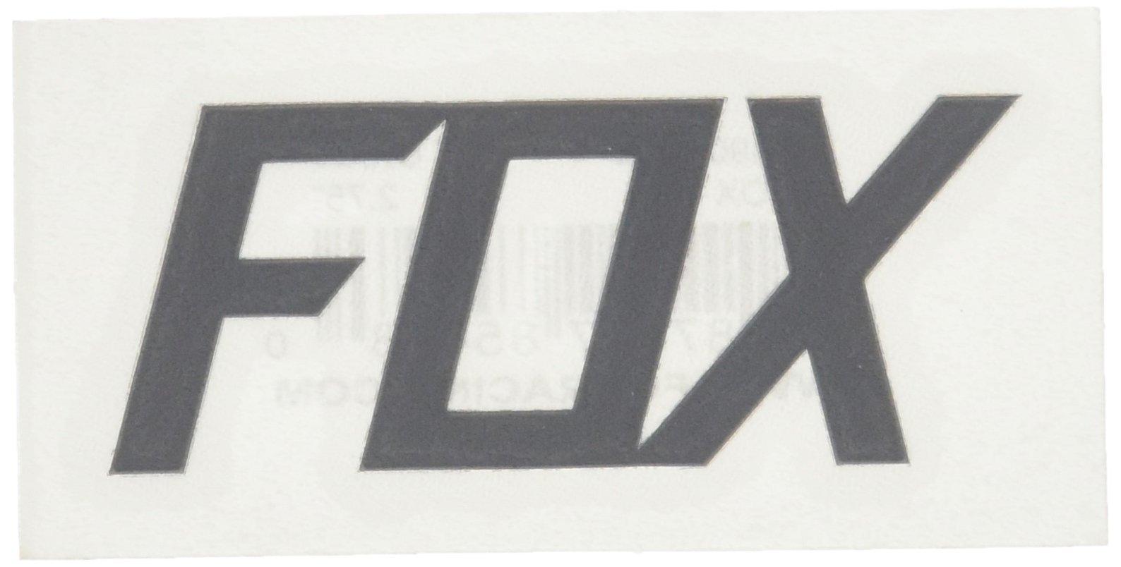 Fox Men's TDC-2.75'' Sticker, Mt Charcoal One Size