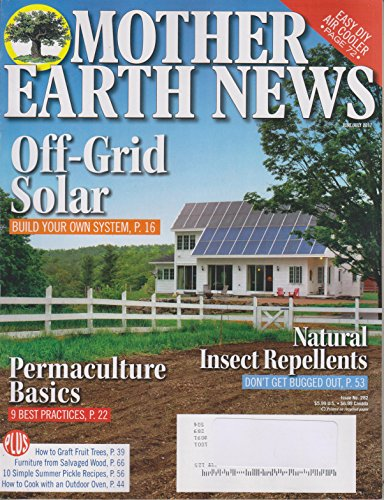 Mother Earth News June/July 2017 Off-Grid Solar Build Your Own System