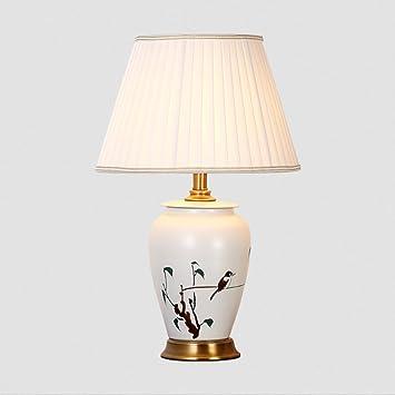 Classique De Art Céramique Yaonai Chinois Jingdezhen Chevet Lampe HWEIDY92