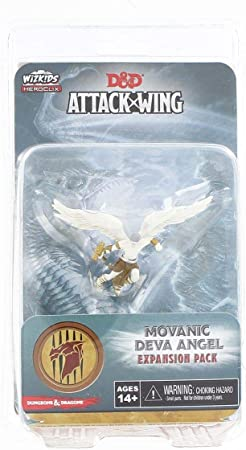 Dungeons and Dragons D and D Attack Wing Wave 2 Movanic Deva Angel Board Game: Amazon.es: Juguetes y juegos