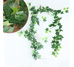 Plantas Artificiales 148 cm Plantas Artificiales Planta Colgante Artificial Hojas Verdes Ivy Garland Pared Decora Follaje Vides De Boda, Vid Artificial, para La Boda, Fiesta, Hogar (Color : 1#): Amazon.es: Hogar