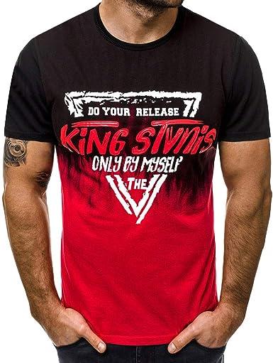 Camiseta para Hombre Camiseta Slim para Hombre Camuflaje ...
