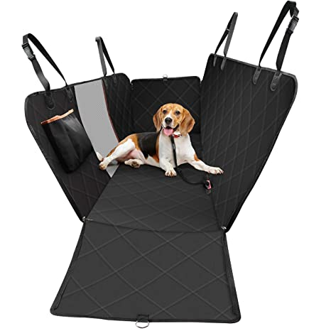 Tremendous Omorc Dog Car Seat Covers Special Reinforced Pet Car Seat Cover With Mesh Window Storage Pocket Scratch Proof Waterproof Easy To Install Short Links Chair Design For Home Short Linksinfo
