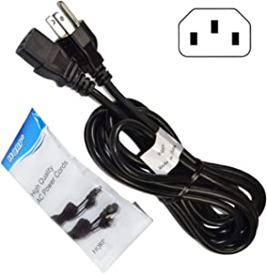 HQRP 10ft AC Power Cord fits HP Photosmart C5288 C5290 C5293 C5540 C5550 C5580 C6150 C6180 C6185A D5360 D5365 D6160 D6163 D7160 D7360 C309G C309N D7160 All-in-One Printer Mains Cable