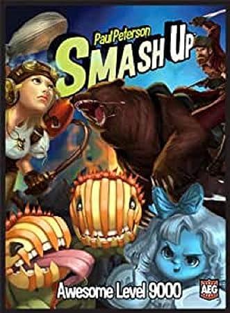 Smash Up: Awesome Level 9000 - Juego de Mesa: Amazon.es: Juguetes y juegos