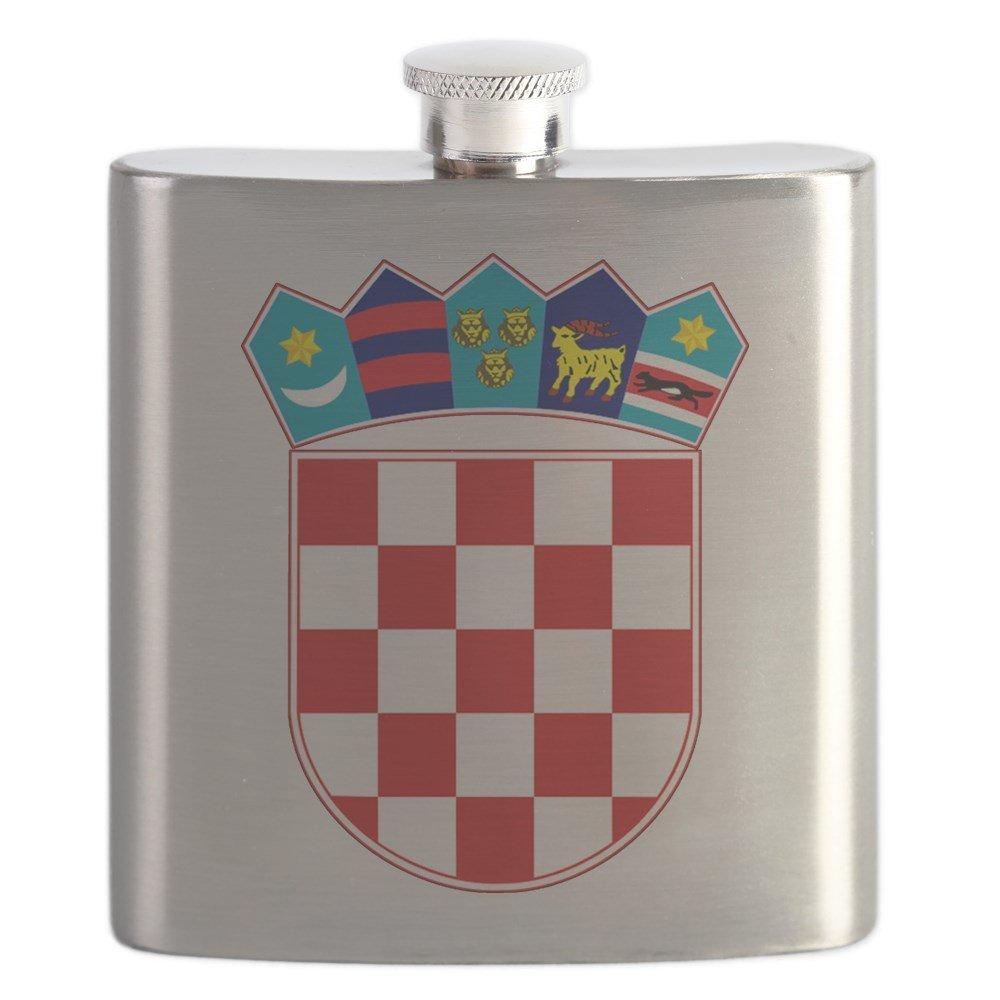 1着でも送料無料 CafePress – クロアチアHrvatskaエンブレム – – – ステンレススチールフラスコ CafePress、6オンスDrinkingフラスコ B01IUEVO5W, 久居市:c1b2cf81 --- a0267596.xsph.ru