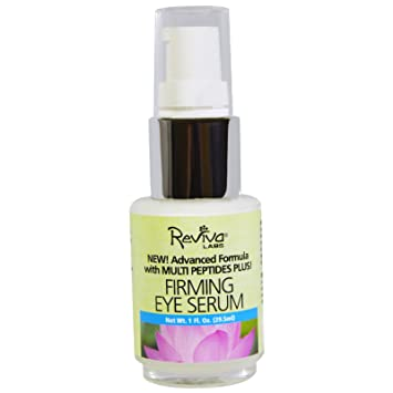Firming Eye Serum - 1 fl. oz. by Reviva Labs (pack of 1) Facial Gel Cleanser with Activated Charcoal - 5 fl. oz. by Jean Pierre (pack of 2)