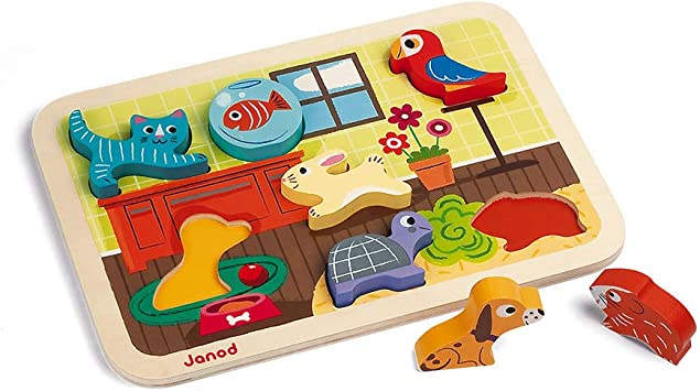 New Wooden Jigsaw Puzzle Toys Kids Early Education Wooden Puzzle Hand Toys LS