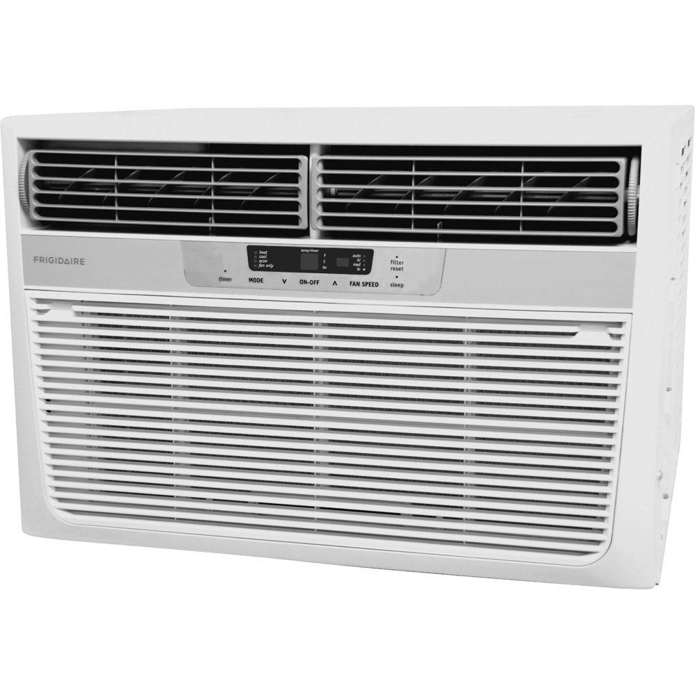 Frigidaire fra12ezu2 12 000 btu window mounted for 12000 btu window air conditioner with heat pump