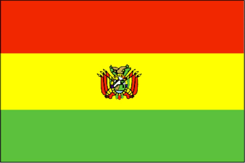 Gran Bandera de Bolivia 150 x 90 cm Satén Durobol Flag: Amazon.es: Deportes y aire libre