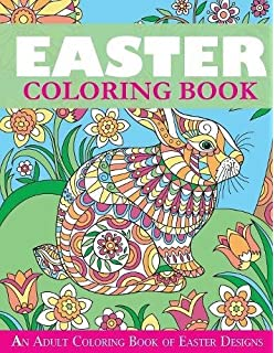 Amazon.com: Easter Coloring Book: Easter and Spring Coloring Designs ...