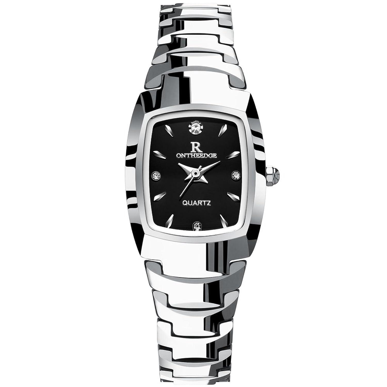 超薄型防水時計/ Ladies quartz watch /タングステンスチールバンドブレスレットwatch-a B06XJRTJW4