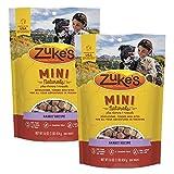 Zuke's Mini Naturals Dog Treats, Rabit, 16 oz. Pouch – 2 Pack