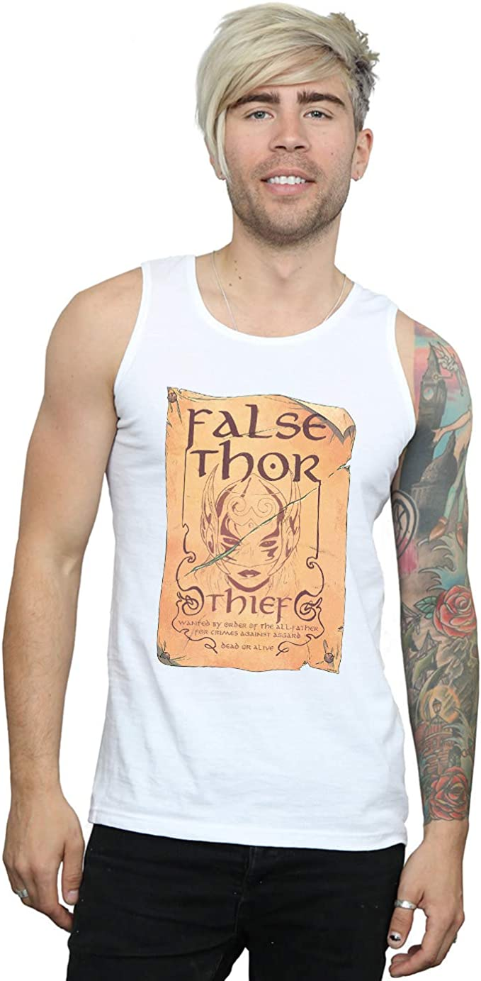Marvel Hombre The Mighty Thor False Thor Poster Camiseta Sin ...
