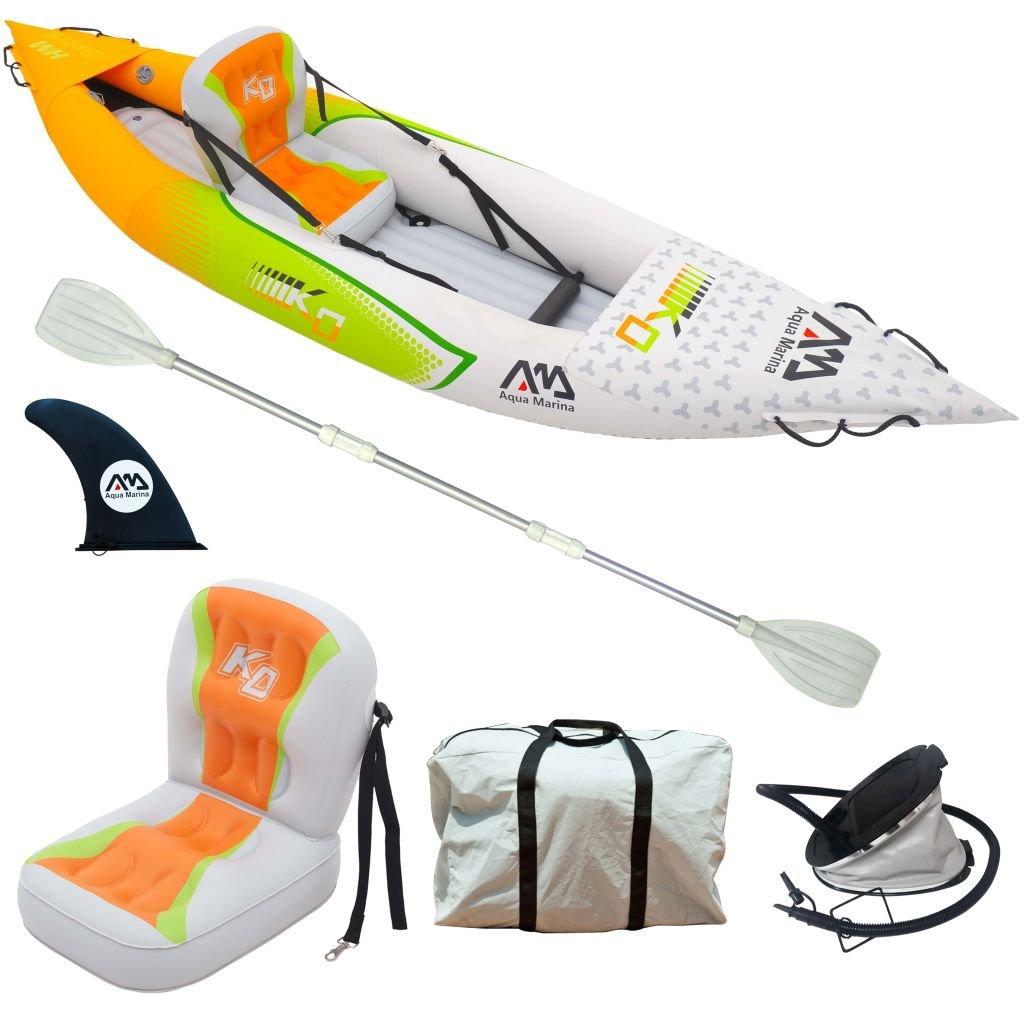 WEILANDEAL Aqua Marina Kayak Hinchable Betta Hm K0 para 1 ...