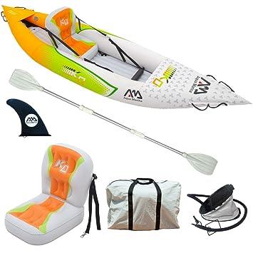 Aqua Marina Kayak Inflable 1 Persona Bote Kayac Hinchable ...