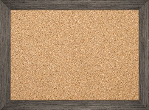 The Board Dudes 17″ X 23″ Cork Board with Decorative Distressed Wood Frame Photo #2