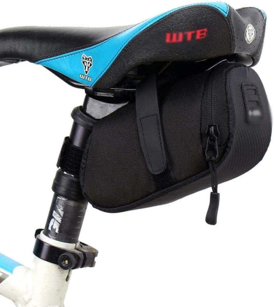 WOOAI Bolsa de sillín de Bicicleta Impermeable Bolsa de Bicicleta ...
