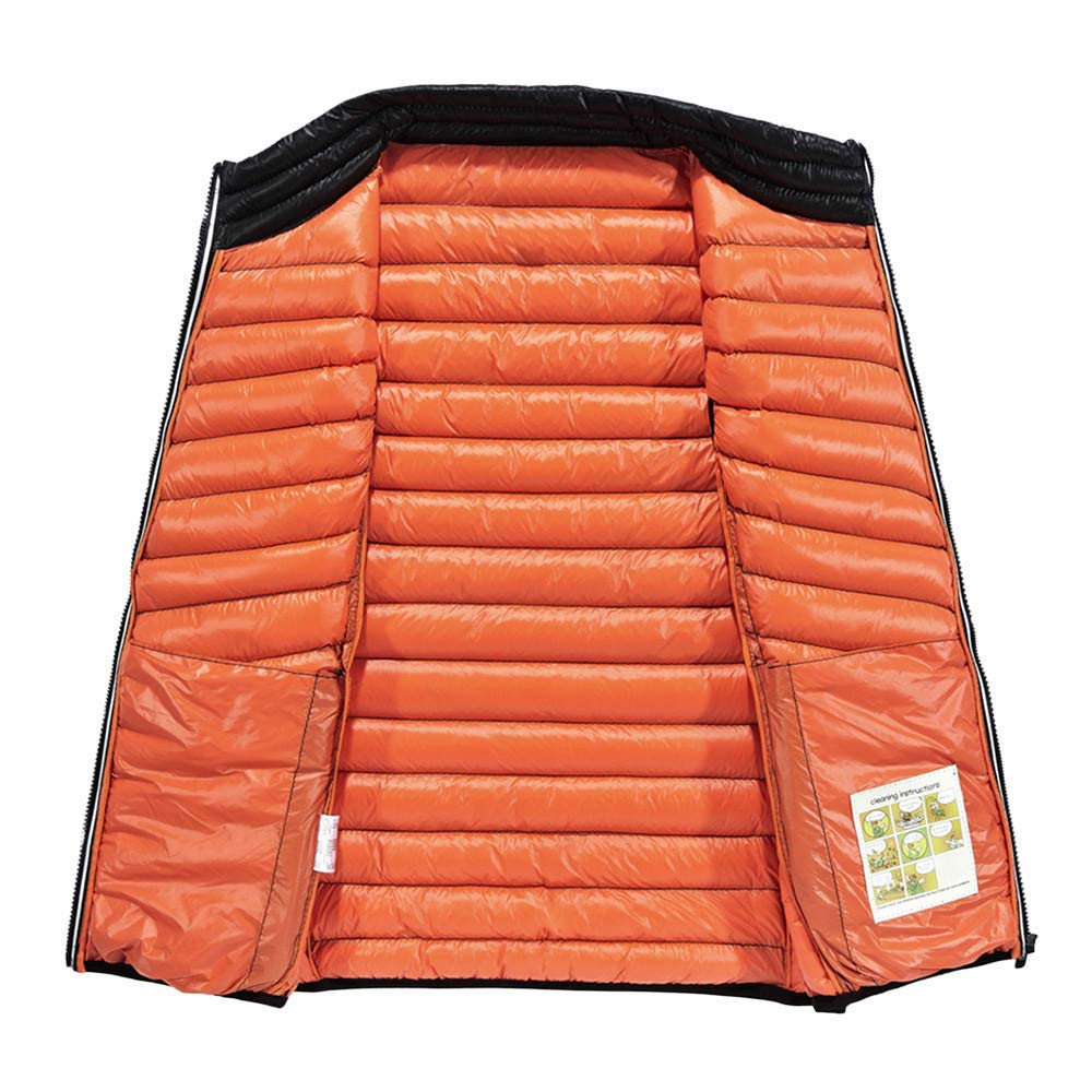 LISTHA Padded Cotton Vest Coat Mens Vest Body Warmer Thick Jacket Sleeveless