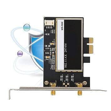Tarjeta de red Gigabit PCI-E con 2x6dBi MIMO, tarjeta PCIe ...