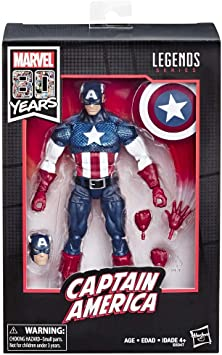 Marvel Legends - 80 aniversario Capitán America (Alex Ross ...