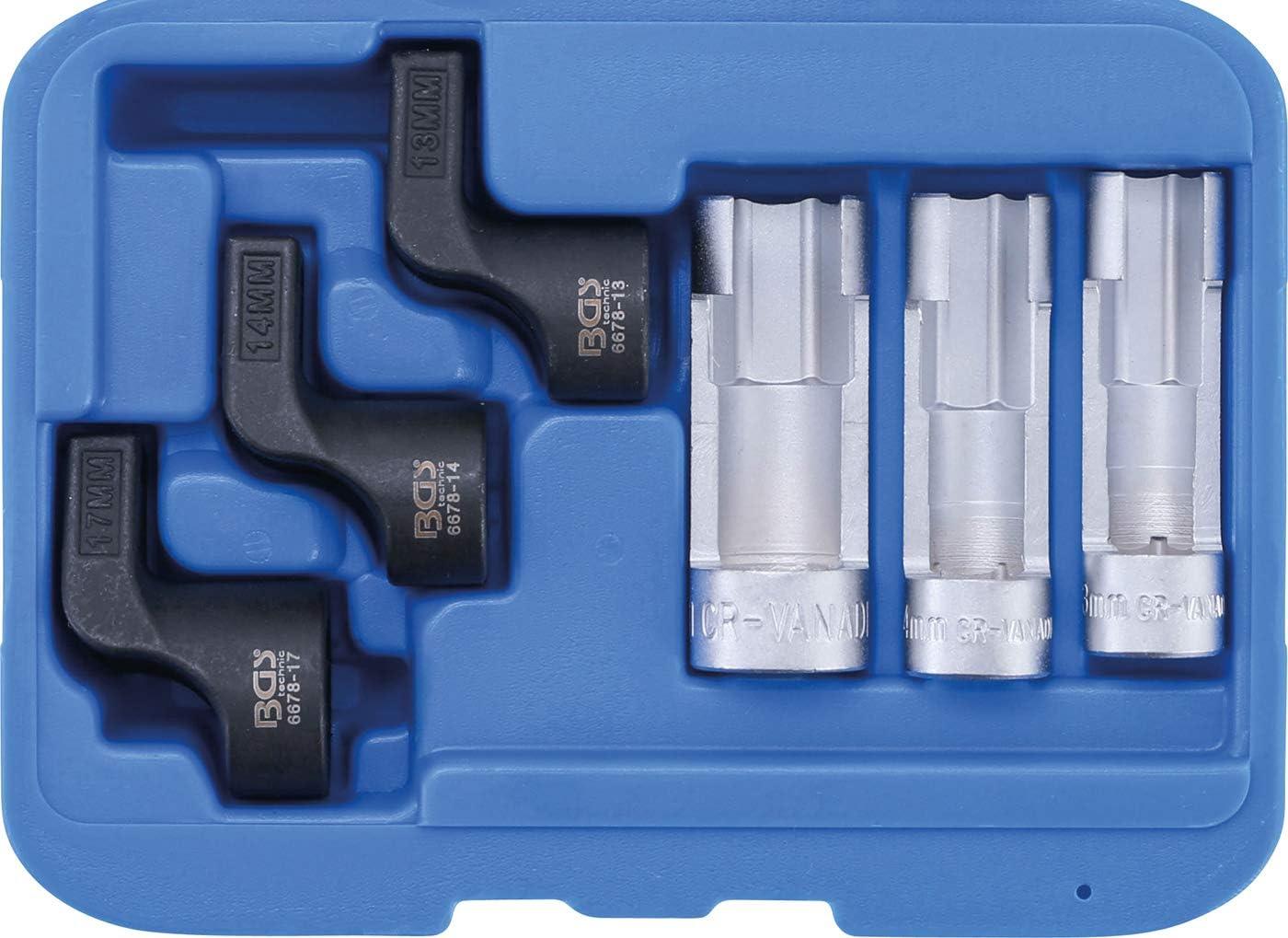 Juego especial de sensores de temperatura de gases de escape insertables BGS 6678 EGT | 6 piezas