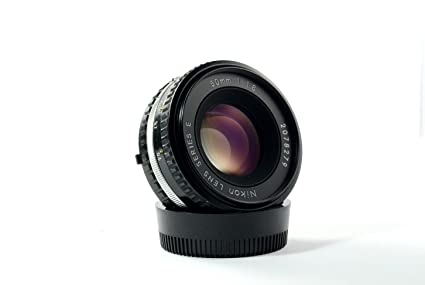 Nikon 50mm f/1 8 series E AIS lens