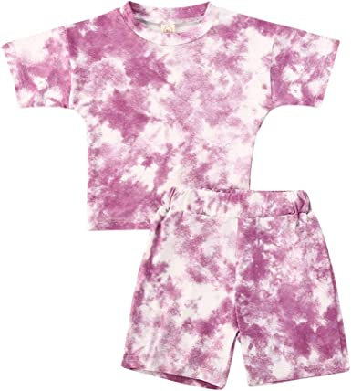 Long Pants Kids Casual Outfit Set Toddler Girls Baby Clothes Tops Tee T-shirts
