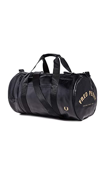 Fred Perry Classic Barrel Hombre Holdall Negro: Amazon.es: Zapatos ...