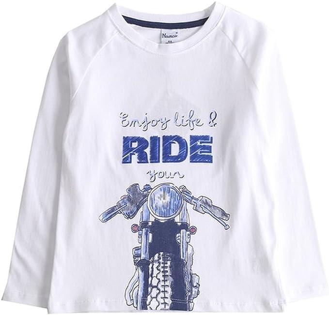 NEWNESS Camiseta Moto Niño 3-6 Años (5 años): Amazon.es: Ropa y accesorios