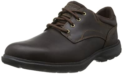 Timberland Earthkeepers Richmont Plain Toe Oxford, Men's Shoes, Maroon  (Dark Brown),