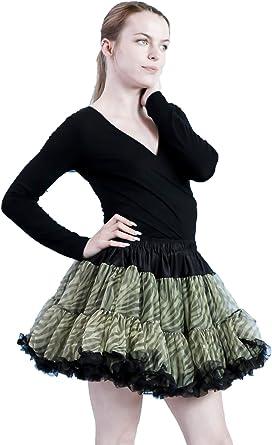 BellaSous - Falda de tutú sexy para Halloween, disfraz o vestido ...