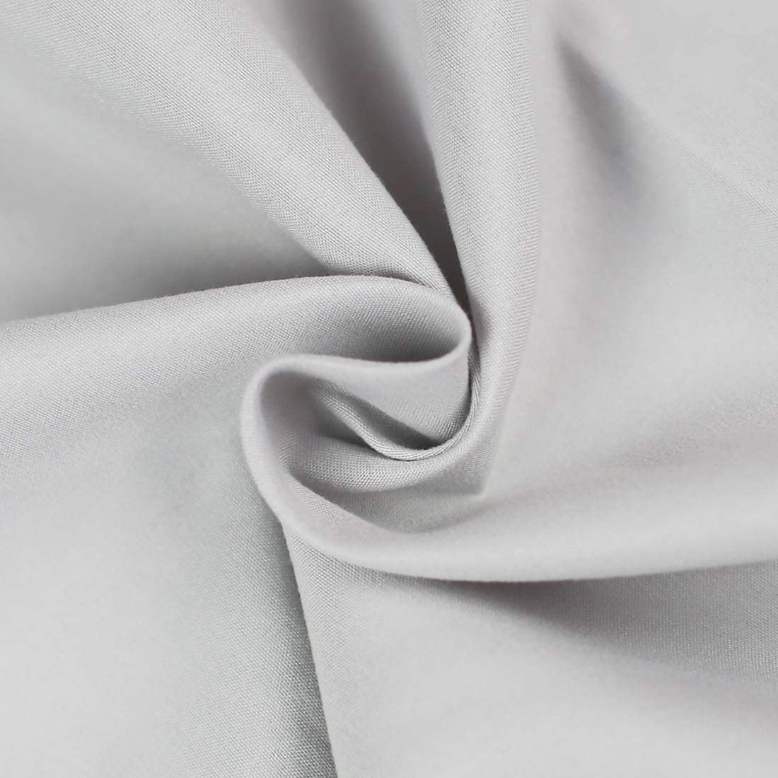 Breathable 2000 Series Bed Top Sheet Fade Resistant Ivory Full Wrinkle BASIC CHOICE 2-Pack Flat Sheets