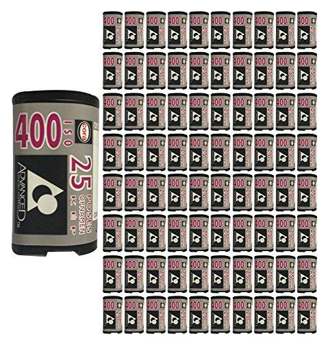 100 Rolls - CORA APS Film ISO 400 25 Exp Advantix Nexia Kodak Rare Cold Stored by Cora