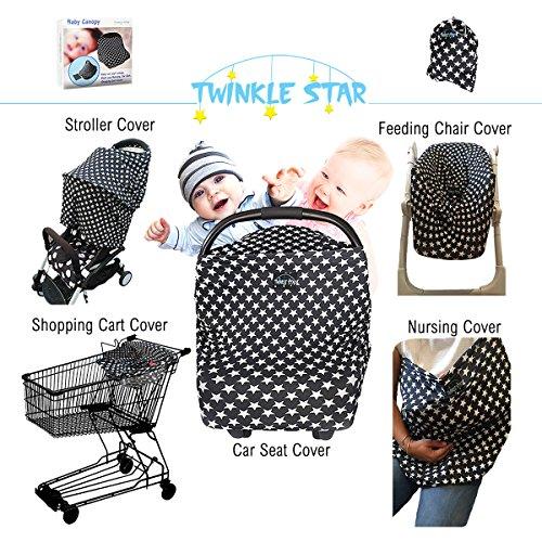 Star Stroller Breastfeeding Stretchy UnisexInfantShowerGift