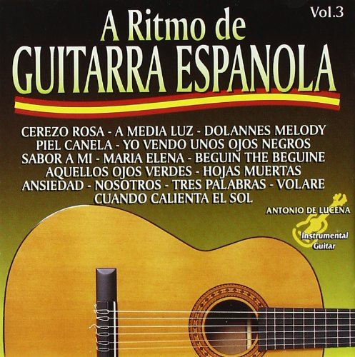 A Ritmo De Guitarra Española Vol.3: Various Artists: Amazon.es: Música