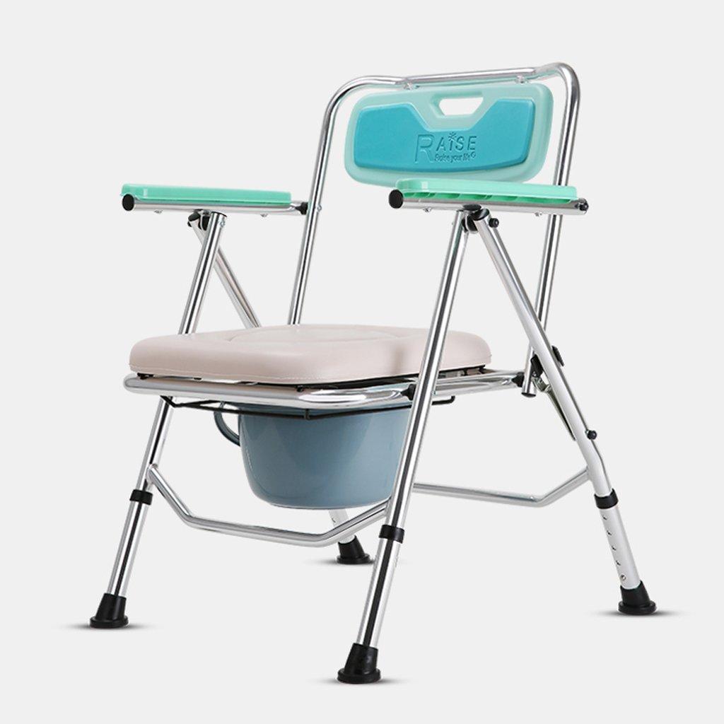 LXN 折りたたみ式トイレ椅子とトイレの椅子のバスルームのアンチスリップ調節可能な高さのバスルームシャワーのスツール高齢者/妊婦/障害者のトイレの椅子 B07DGMZYZL