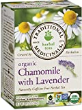 Traditional Medicinals Organic Chamomile with Lavender Tea, 16 Tea...