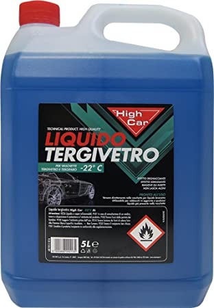 High Car líquido limpiacristales High-Car -22â ° 5L - químico Coche ...