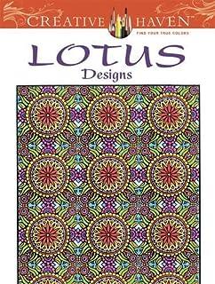 Creative Haven Lotus Designs Coloring Book Books
