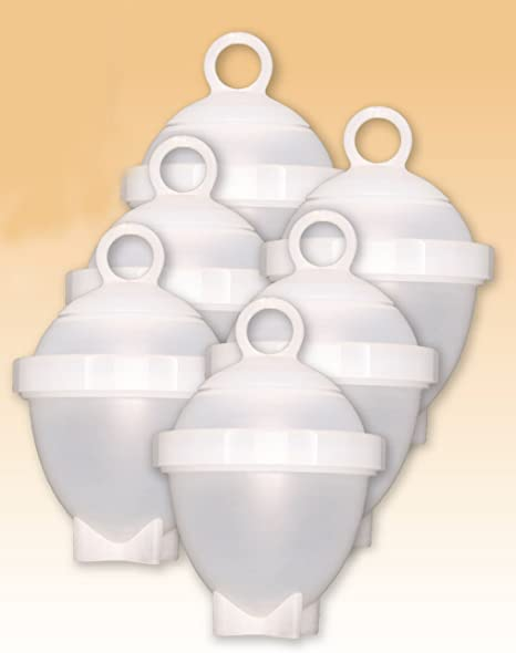ECM STORE: Eggies, juego de 6 recipientes para cocer huevos al ...