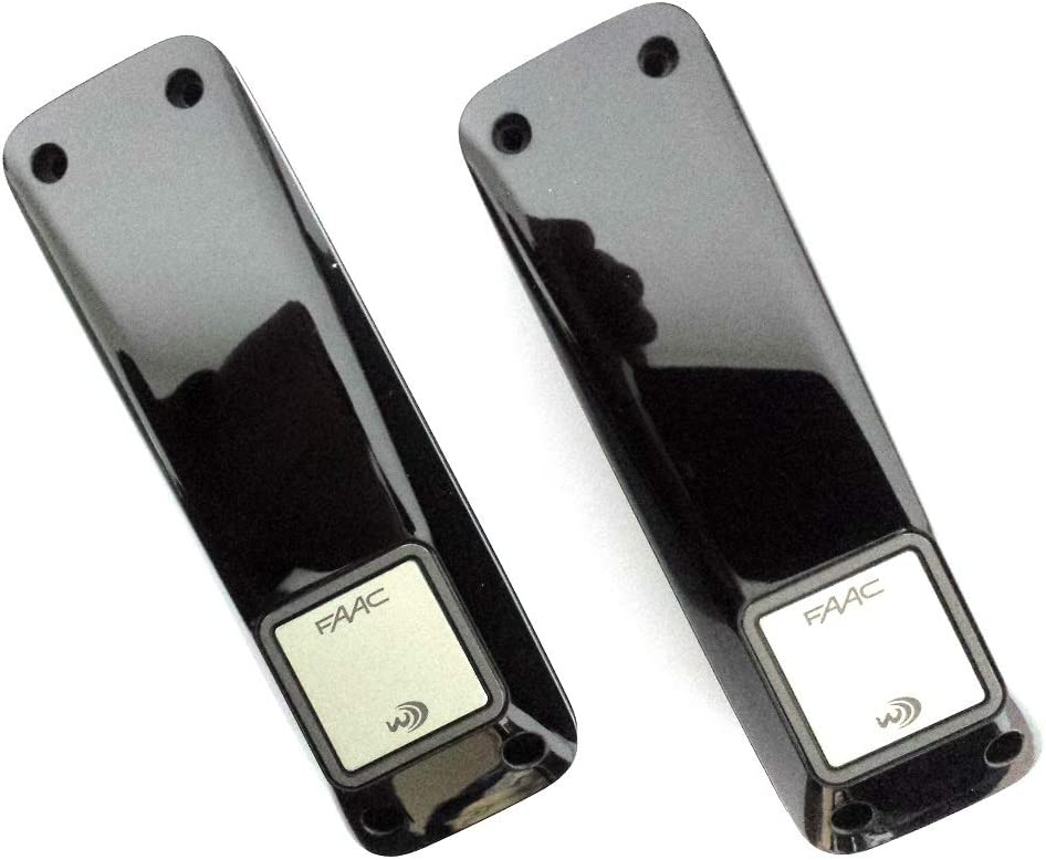 Faac XP 20W D Wireless - Juego fotocélulas inalámbricas universal, para usar con batería o con cable, compatible con cualquier motor o central del mercado. Alta calidad.