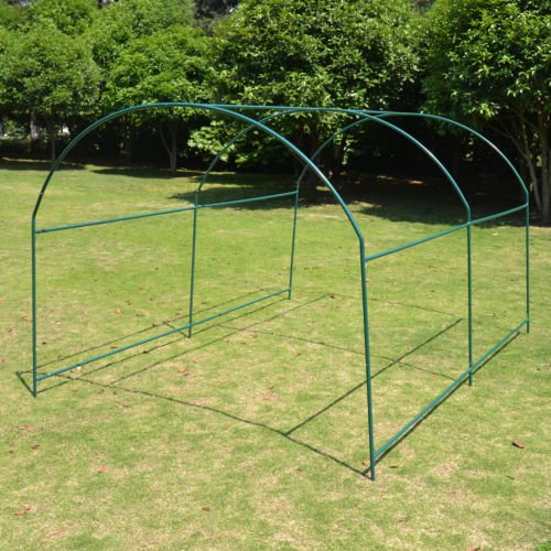 - Strong Camel Greenhouse Replacement Frame for 10'X7'X6' Larger Hot Garden House, Support Arch Frame Climbing Plants/Flowers/Vegetables