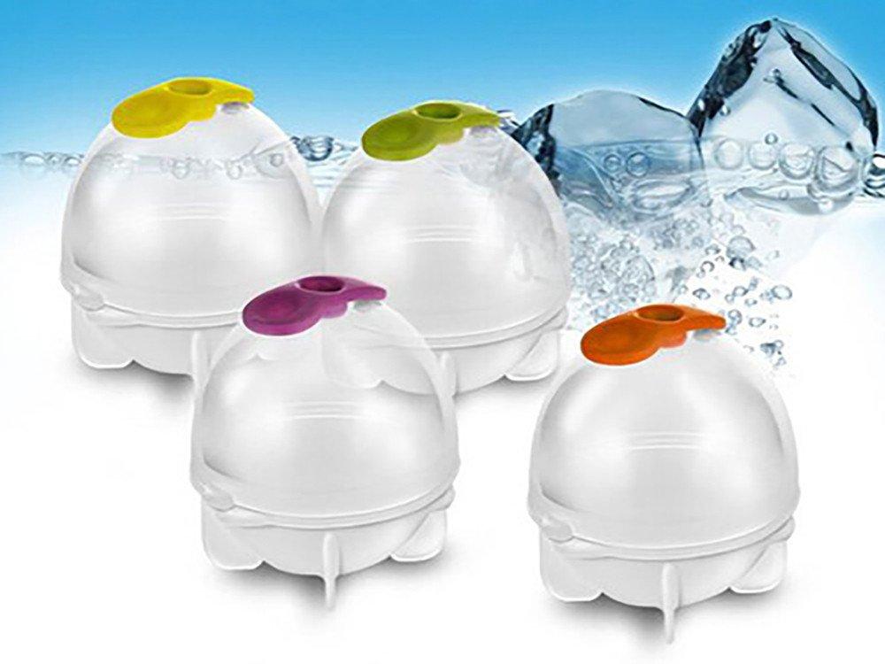 Mancooy Gla/çons Sph/ère de Fabrication de Boules de Gla/çons Rondes en Plastique S S,L Moule /à Glace 3.5 * 3.5cm