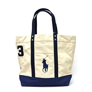 b5d32ffe2af9 Image Unavailable. Image not available for. Color  Polo Ralph Lauren Big  Pony Tote Bag