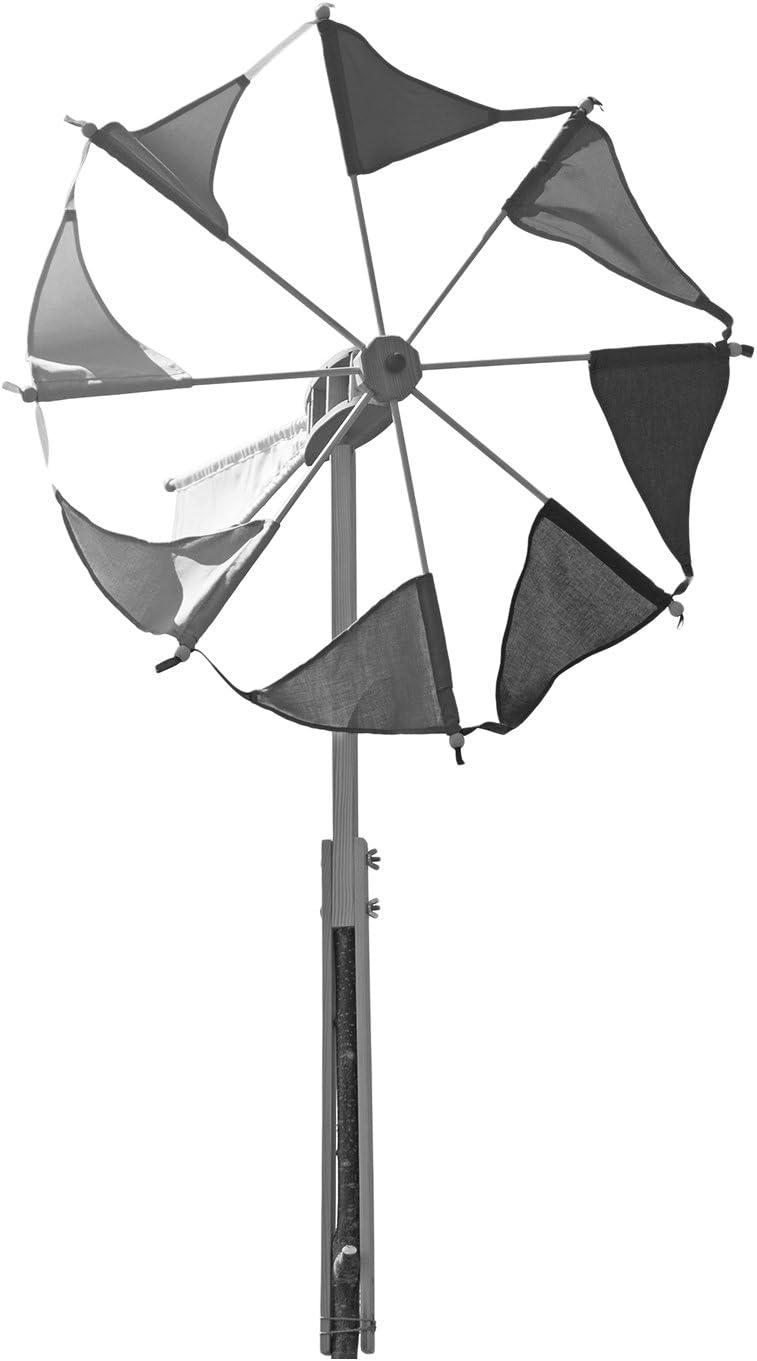 Kraul Windrad Wirbelwind Natur Spielzeug