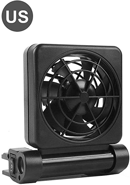 Fish Tank Chiller Cooling Fan Fish Tank Adjustable Speed Temperature Control
