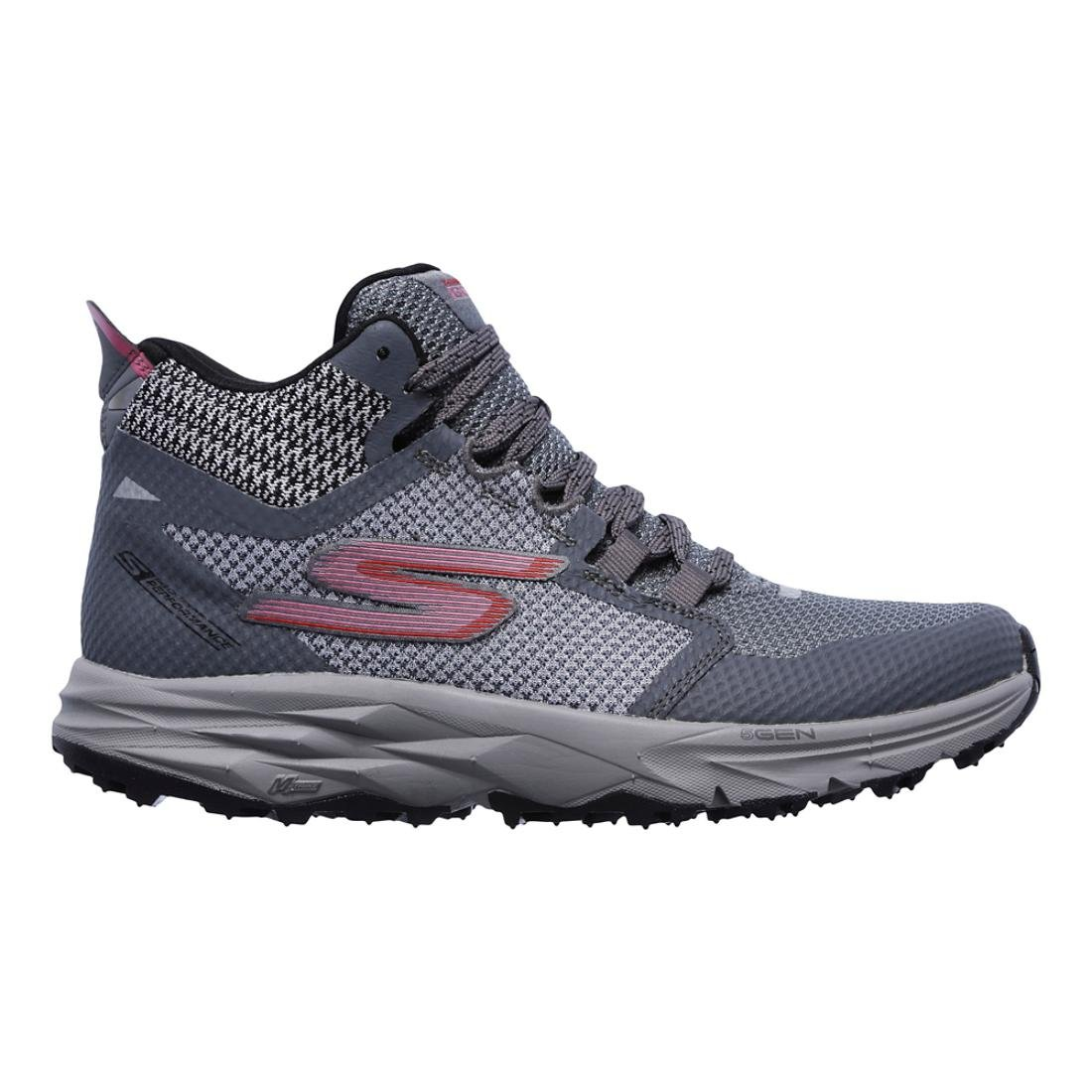 Skechers Women's Go Trail 2 - Grip Hiking Shoe B077H1P17Z 7.5 B(M) US|Gray/Pink