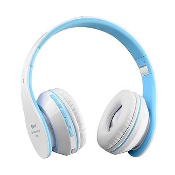 Penzo: auriculares de diadema inalámbricos con Bluetooth 4.1estéreo,